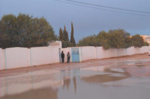 Article : Tunsie : Deux heures de faibles pluies et des rues inondées.