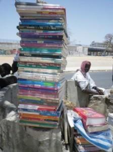 Les manuels français dominant le marché.©Limoune