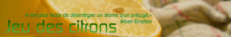 Jeu des citrons