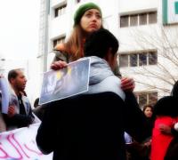 Hommage à Shaimaa al Sabbagh. Tunis. ©Limoune